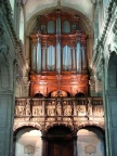 Ancien jubé et grand orgue